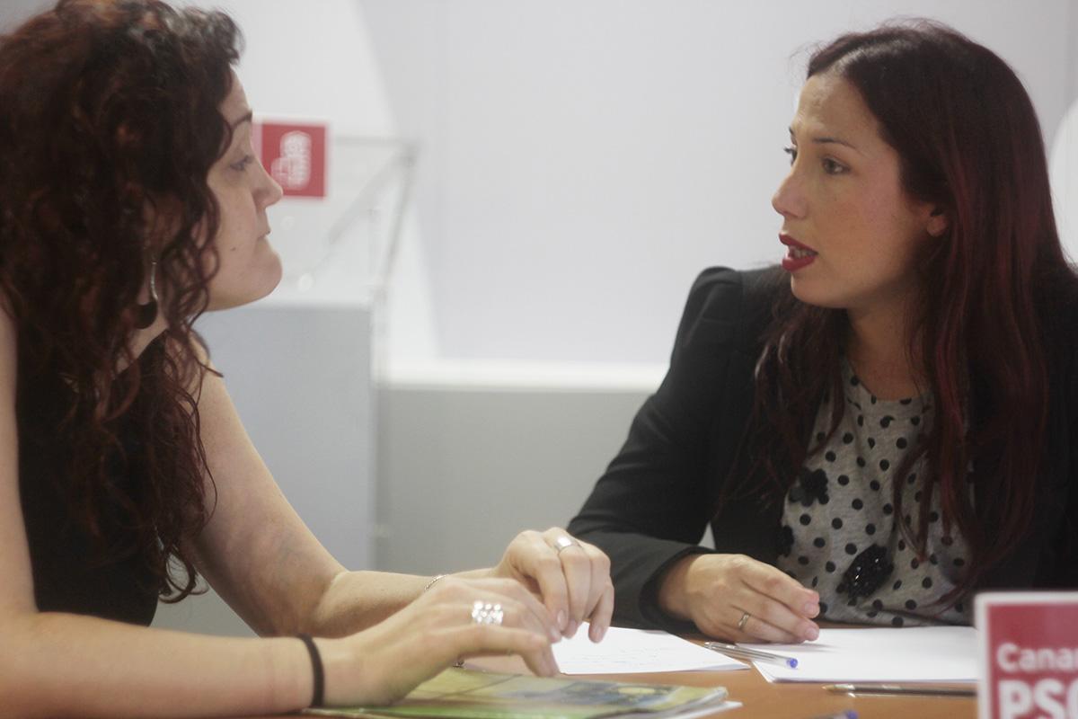 Patricia Hernández con Greenpeace