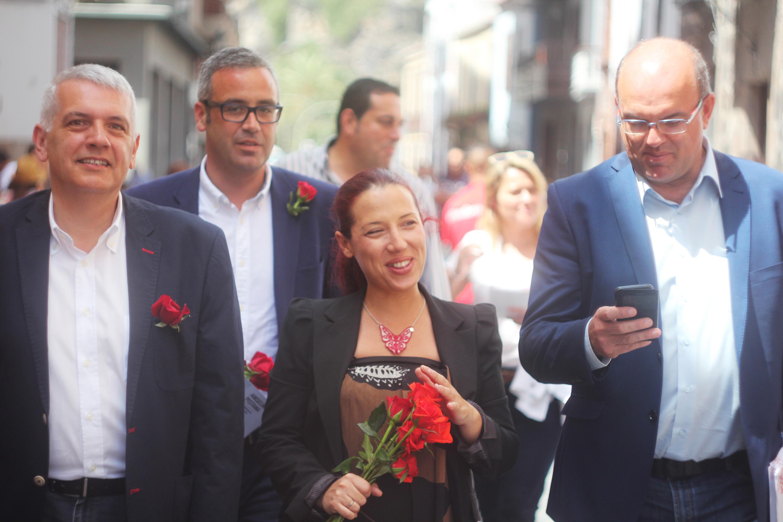 Patricia Hernández en La Palma