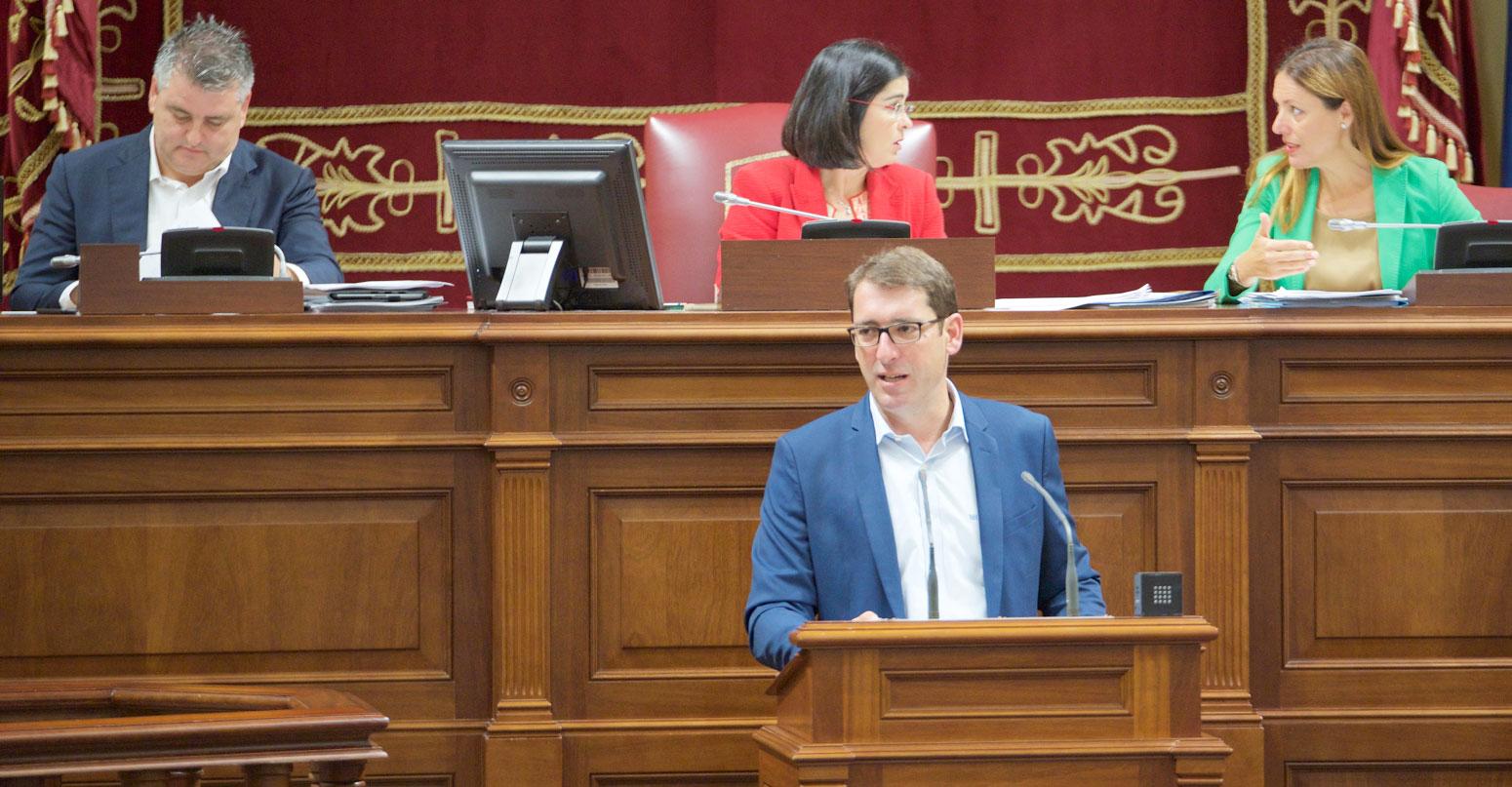 Iñaki Lavandera en el pleno