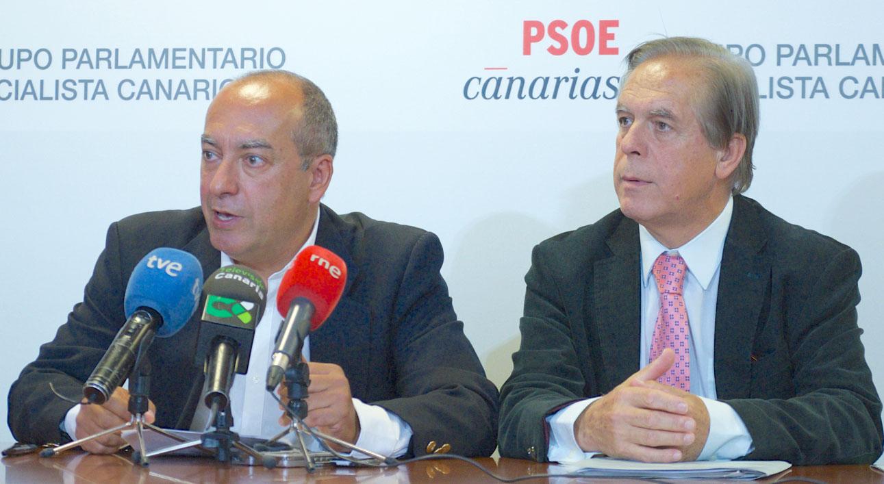 Julio Cruz y José Vicente González Bethencourt