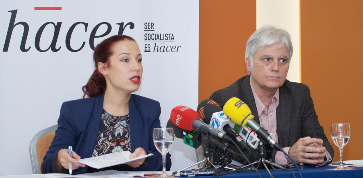 Patricia Hernández y José Miguel Pérez