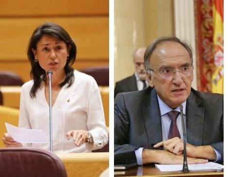 Paloma Hernández y Manuel Fajardo